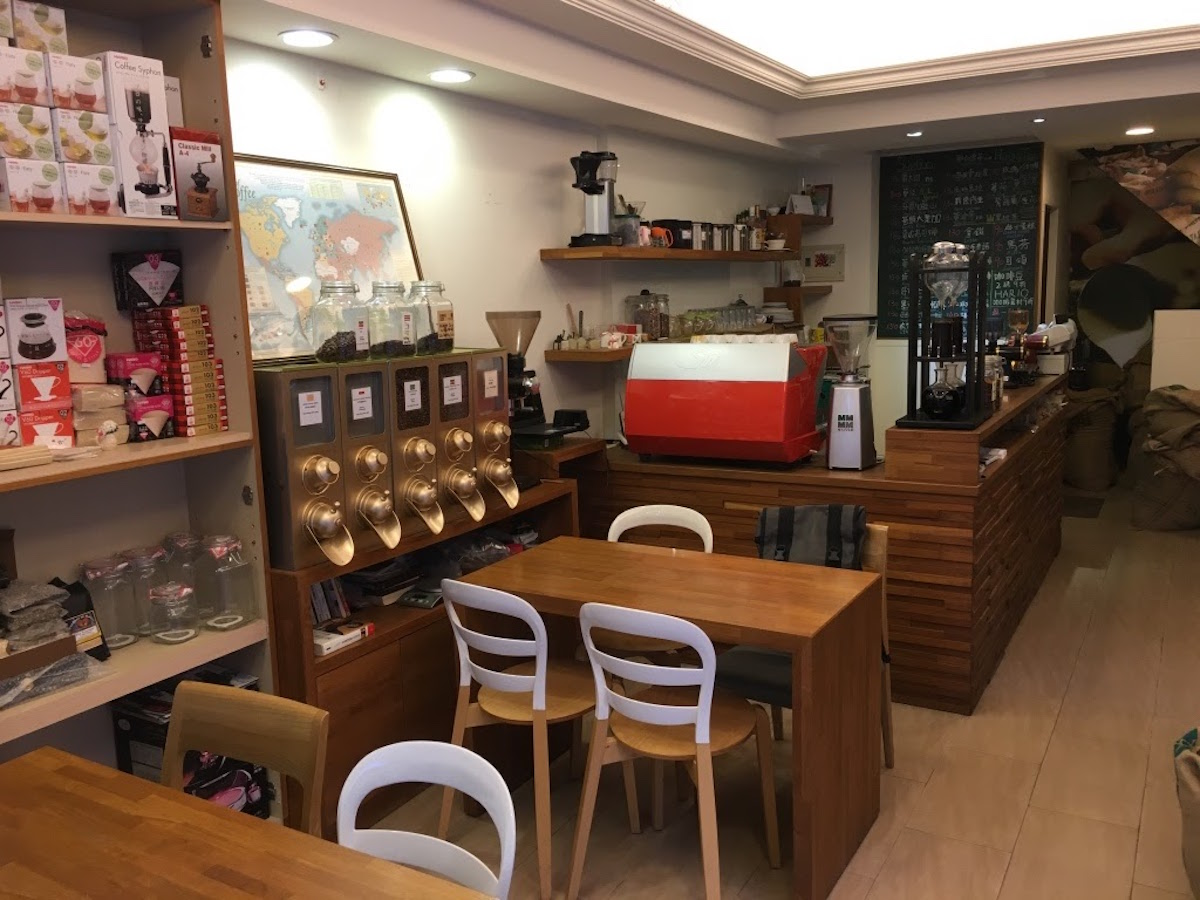 AMAO COFFEE COMPANY 館內座位