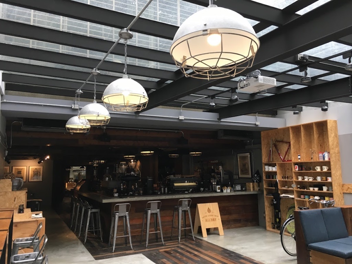 一走進 All Day Roasting Company