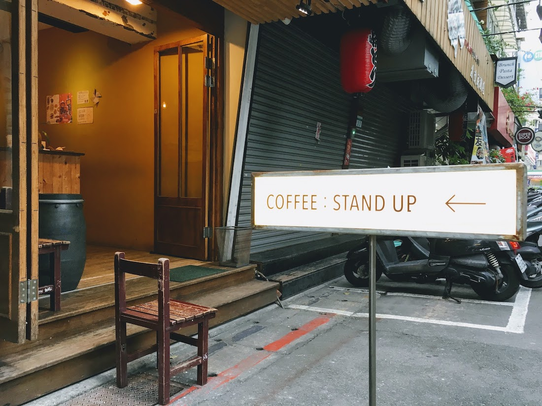 COFFEE:STAND UP Cover picture