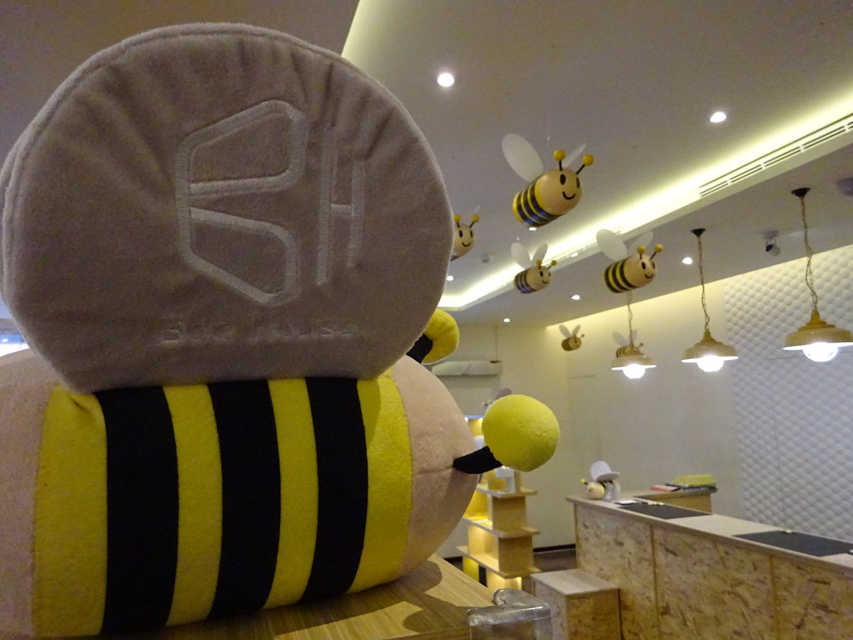 the cover picture of Bee House