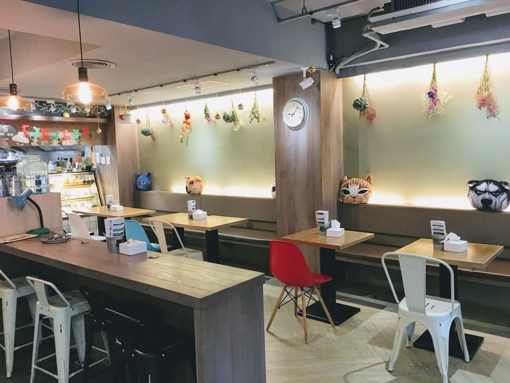the other side seat in Choose Me Cafe & Meal