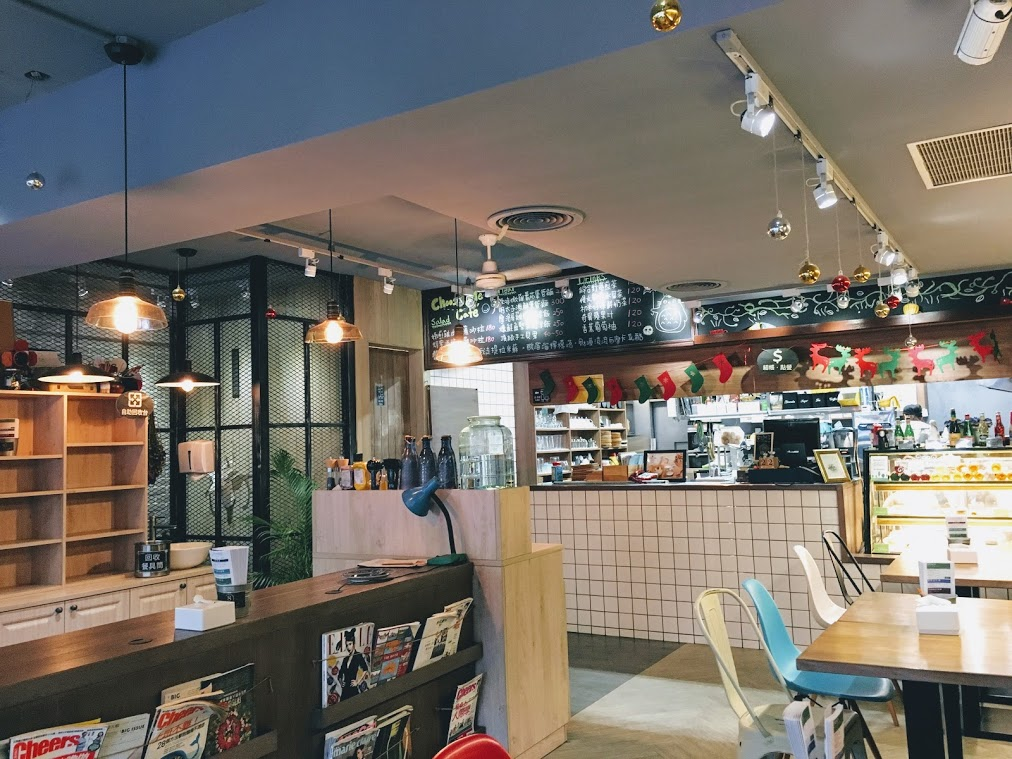 the seat and kitchen in Choose Me Cafe & Meal