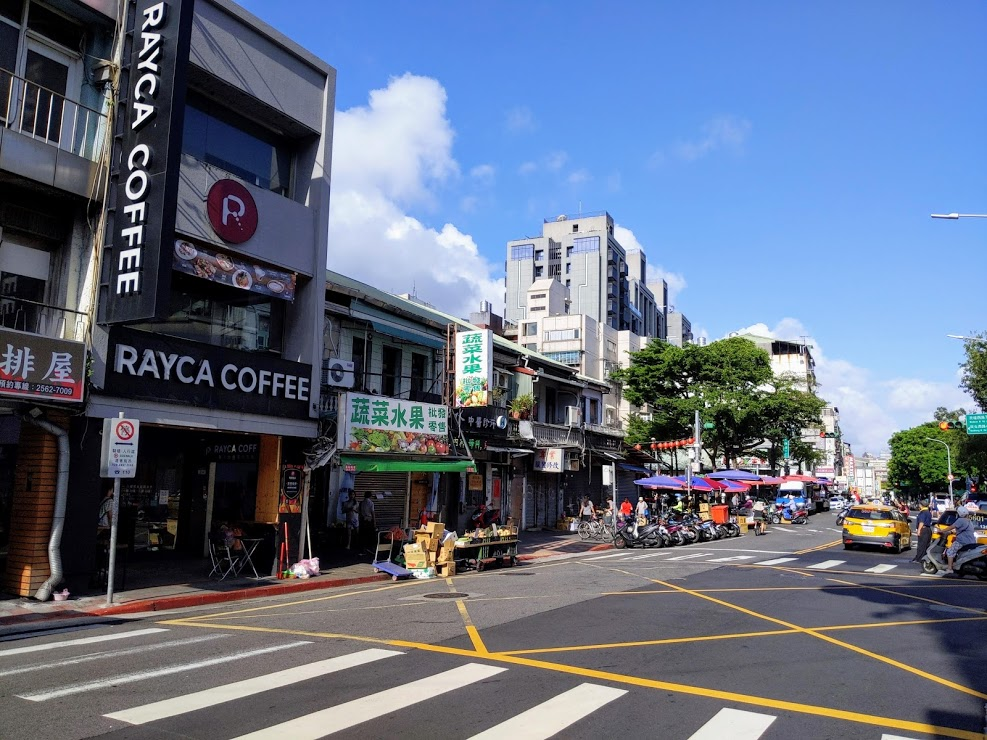 RAYCA Coffee 在路衝